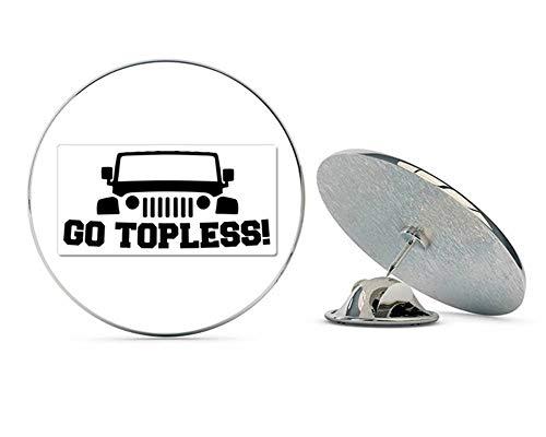 NYC Jewelers Jeep Go Topless Metal 0.75