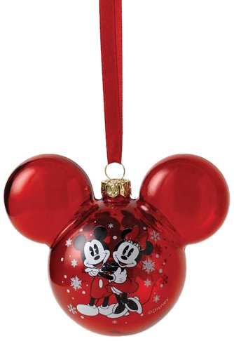 Disney Weihnachtskugeln.Enchanting Disney Mickey And Minnie Mouse Bauble