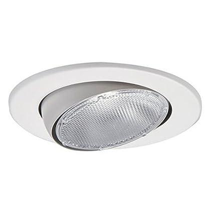 Satin Nickel EATON HALO 5070SN 5-Inch Eyeball Light Trim