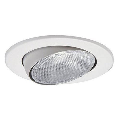 Halo 5070P 5-Inch Eyeball Light Trim, (White Eyeball Recessed Light Trim)