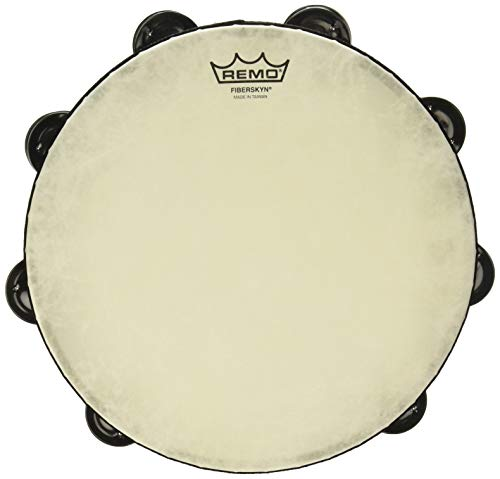 Tambourine Bulk - Remo TA-5210-70 Fiberskyn Tambourine - Quadura