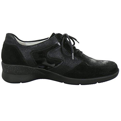 Hirokas 301 Noir chaussures femme Waldläufer 001 912001 gqwx446B