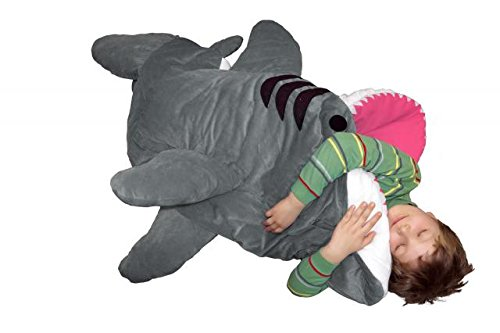 Chumbuddy 3 Kids Great White Edition Shark Designer Plush Sleeping Bag