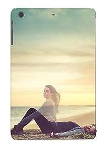 Fashionable Xyq142aYTmz Ipad Mini/mini 2 Case Cover For Women On The Beach Protective Case With Design