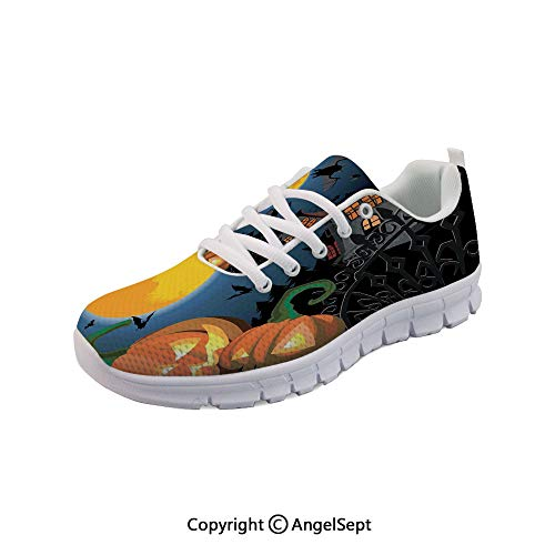 Athletic Shoes Breathable Halloween Haunted House Party Trick Fashion -