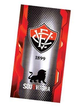 Authentic Vitoria Soccer Team Beach Towel - Type I | Toalha de Praia Oficial do Vitória Modelo 01 by Esporte Clube Vit�ria