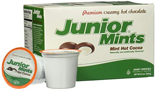 (Junior Mint Chocolate MintSingle-Cup Hot Cocoa for Keurig K-Cup Brewers, 12 Count)