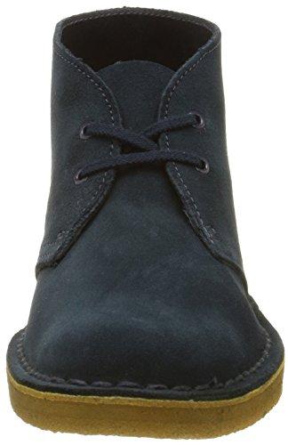 Midnight Clarks Suede Women's Blue Boot Desert Boots Desert xCwpBC1q