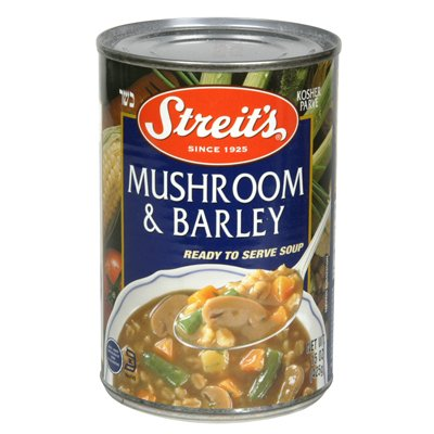 Streits Mushroom/Barley Soup 15 Oz (Pack of 6) - Pack Of 6
