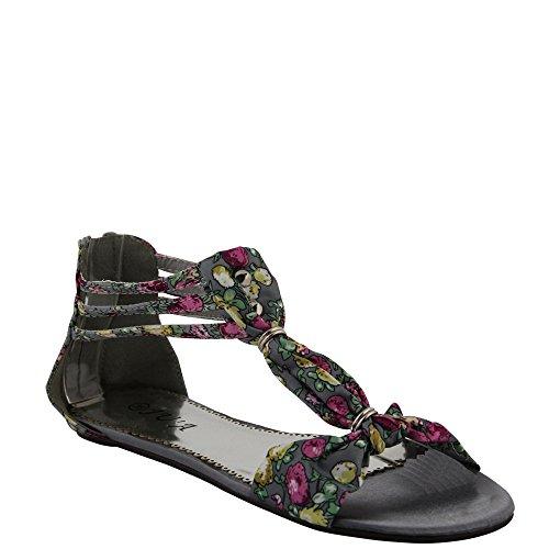 Unbekannt - Scarpe con cinturino alla caviglia Donna