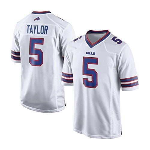 Buffalo Bills Tyrod Taylor #5 White Game Jersey