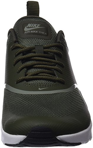 Cargo NIKE Max Thea Air Dark black Khaki Vert Baskets Femme Stucco 310 YYprwq