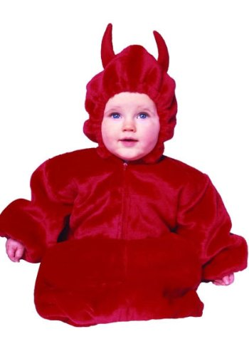 Angel Devil Baby Costumes (My Little Devil Baby Bunting Costume)