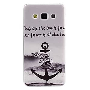 HJZ Anchor Pattern TPU Soft Cover for Samsung Galaxy A5
