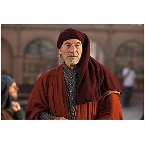 Court Robes (The Hollow Crown Patrick Stewart as John of Guant Standing in Royal Court Wearing Robes 8 x 10 inch photo)