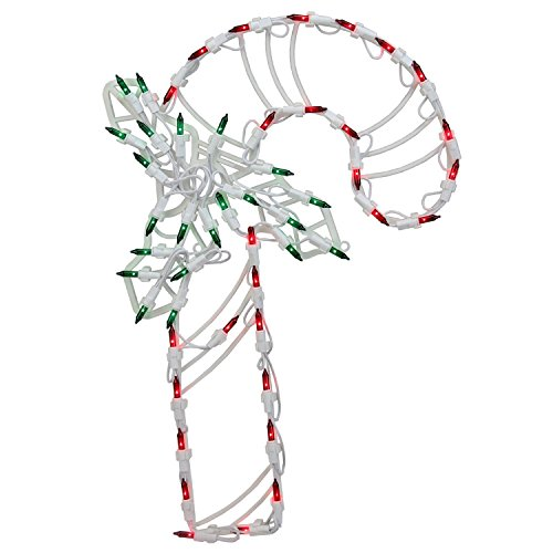 Green Candy Cane Outdoor Lights in US - 6