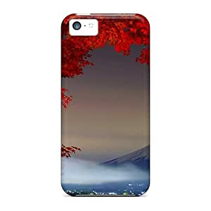 Iphone 5c NepzALI1553IeiMt Snow Capped Mountain Tpu Silicone Gel Case Cover. Fits Iphone 5c