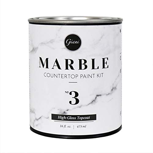 Giani FG-MB Marble Countertop Paint Step 3 High-Gloss Topcoat