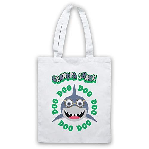Baby Art Grandpa My Clothing Bolso Icon Shark Doo Blanco amp; 10vqgqx