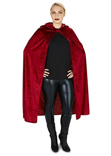 Velvet Riding Hood Adult (Red Velvet Riding Hood Cape)