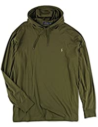 Men\u0027s Big \u0026 Tall Featherweight Pima Hoodie,Green, 2LT. Polo Ralph Lauren