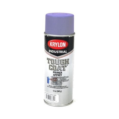 Krylon Paint Commercial Coatings (Krylon Industrial A01540 TOUGH COAT Acrylic Alkyd Enamel, Light Blue, Gloss, 12)