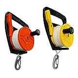 D DOLITY 2Pcs/Set Heavy Duty Dive Reel Kayak Anchor for Scuba Diving Snorkeling Diver