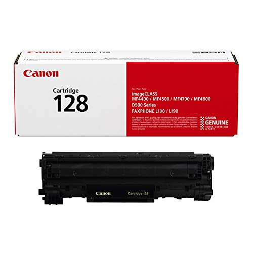 Canon Original 128 Toner Cartridge - Black -