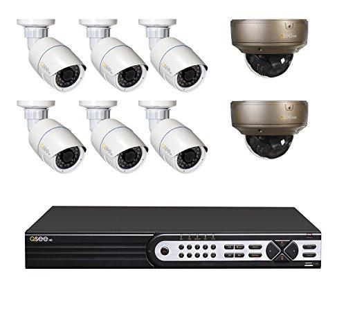 Q See Surveillance QT8616 8AF 4 16 Channel Varifocal product image