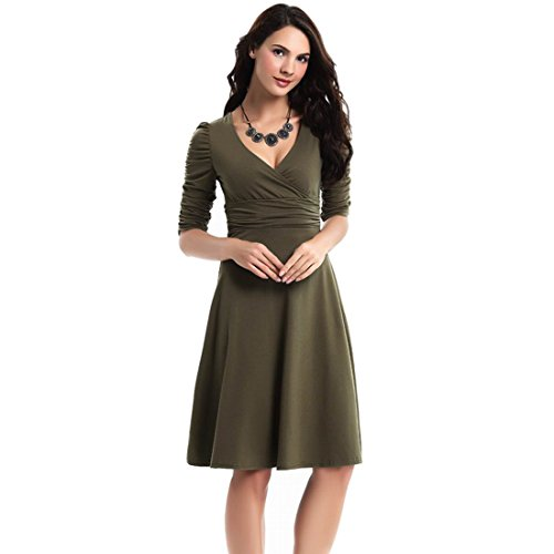 チューブセラフガラガラSalome Idea DRESS レディース カラー: グリーン