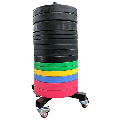 Titan Vertical Weight Plate Storage w/Wheels