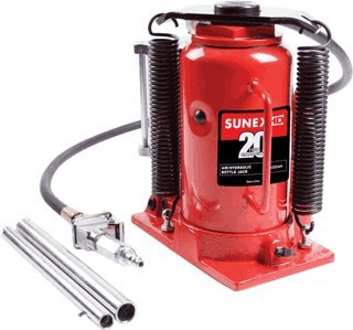 20 Ton Air/Hydraulic Bottle Jack-2pack