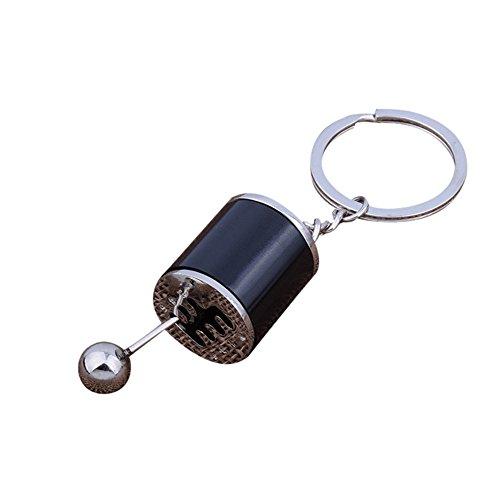 Gear Knob Gear Shift Gear Stick Gear Box Metal Key Chain Keyfob Car Keyring Gift,Outsta 2019 Fashion Jewelry Hot Sale!Under 5 Dollars Gifts for Her ()