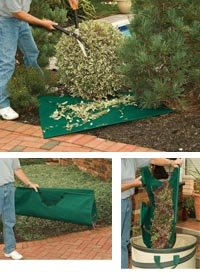 Trim Bib Tarp for Hedge and Shrub Trimming, 3 x 4 Feet ()