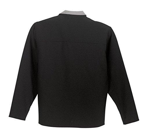 Shell de chaqueta Autoridad Cromo Portuaria Soft Negro Glacier hombre qpOxX5xBw