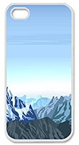 Iphone 4s 4s PC Hard Shell Case Natural Scenery 7 White Skin by Sallylotus