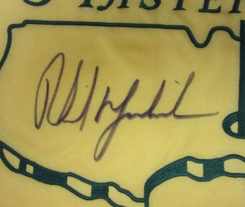 Phil Mickelson Signed Autographed 2004 Masters Flag #ae02710 PSA/DNA Certified Autographed Pin Flags