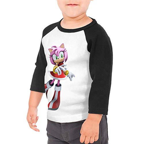 HiPiClothK Boy's&Girl's Sonic Hedgehog Amy Rose Funny Comfortable