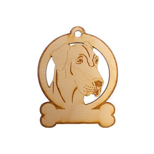 Personalized Great Dane Ornament - Great Dane Memorial Gifts ()