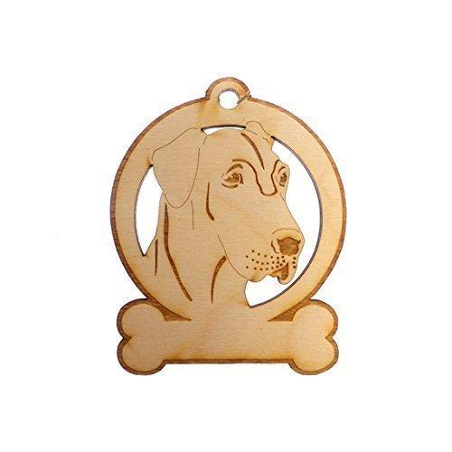 Personalized Great Dane Ornament - Great Dane Memorial Gifts ()