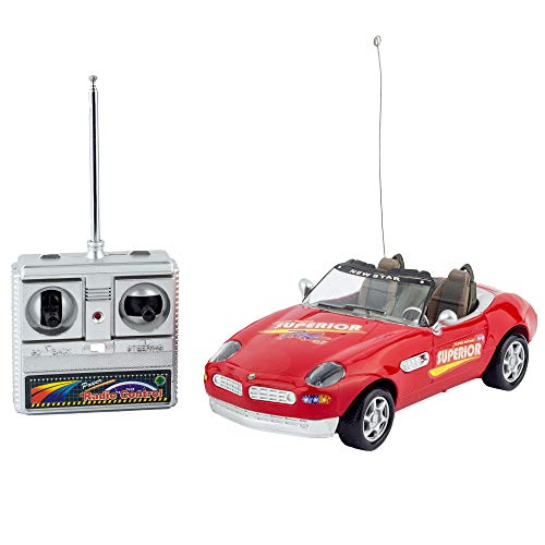 Liberty Imports Super RC Remote Radio Control Convertible Toy Race Car - 1:18 RTR Sports Coupe Vehicle Model Racer (Colors Vary) (Drift Rc Car Subaru)