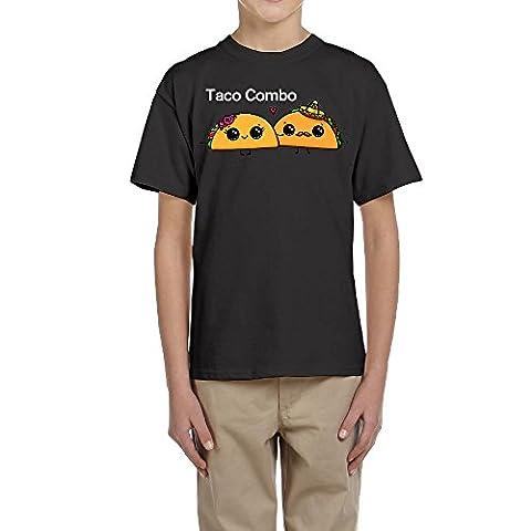 MarskTOTO Taco Combo Youth Sports T-shirts M Black (Sus Tab)
