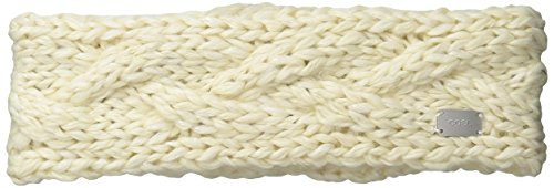 Coal Women's The Greer Chunky Hand-Knit Headband, Creme, One Size