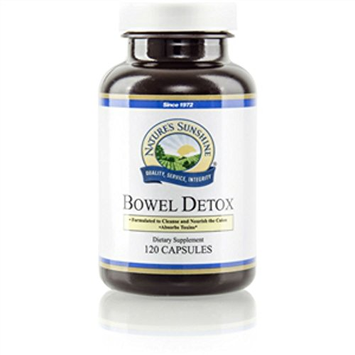 """BOWEL DETOX (IMPROVED), Vitamin, Mineral, and Herbal Supplement, 120 Capsules, 525 mg, Kosher """"FAST SHIPPING"""" 4 PACK SAVING! For Sale"""