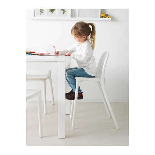 Ikea Urban Chaise Junior Blanc Amazonca Home Kitchen