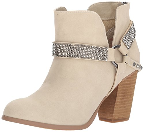 cream ankle boots - 8