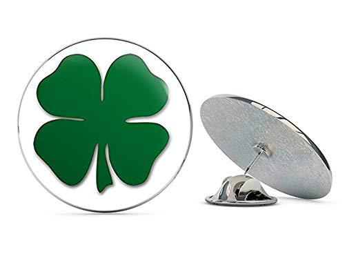 - NYC Jewelers Green Shamrock Shaped (Lucky Irish Clover Boston) Metal 0.75
