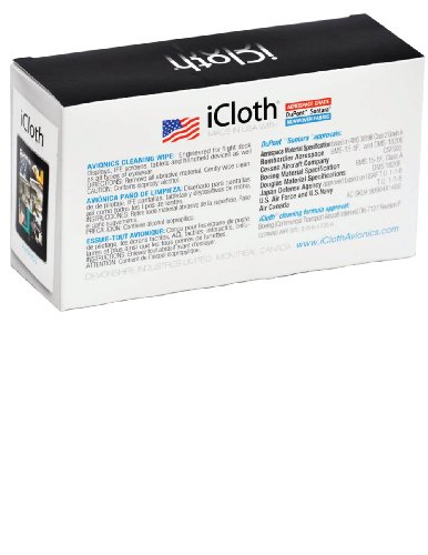 iCloth Large Screen Cleaning Wipes | Pack of 100 pre-moistened and individually sealed - approved for optical clarity For use on Laptop and Desktop Screens, Touchscreen Monitors, Automotive Displays by iCloth (Image #1)