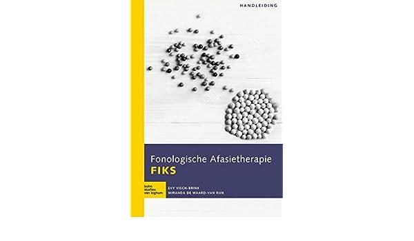 Fonologische Afasietherapie FIKS: Handleiding: Amazon.es ...