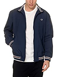 Fred Perry mens Tipped Brentham Jacket